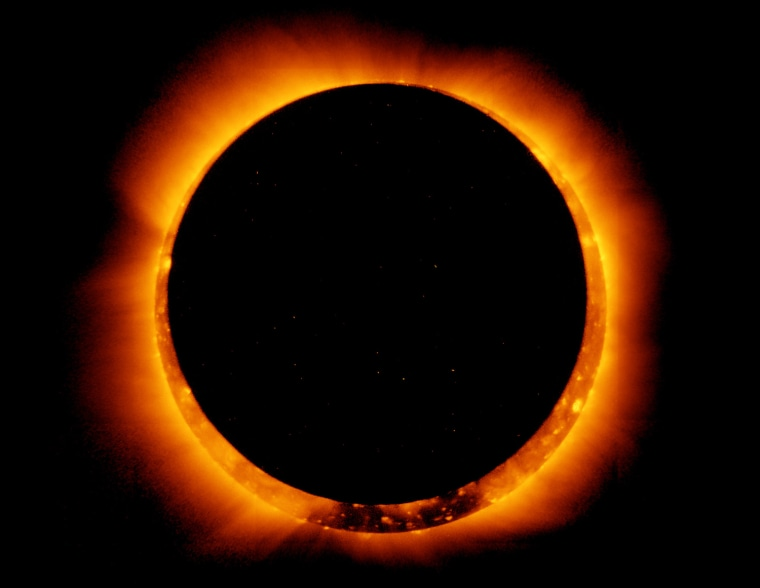 Image: Annular Solar Eclipse Observed