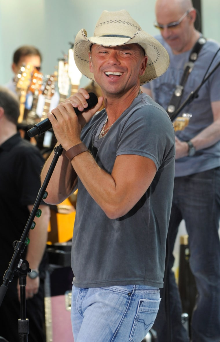 """Image: Kenny Chesney Performs On NBC's """"Today"""""""