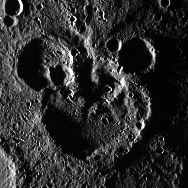 Image: Mickey Mouse spotted on Mercury