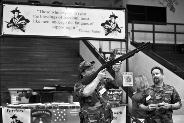 Militiamen of the American Northwest