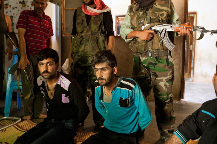 Image: Soldiers from the Free Syrian Army (FSA)