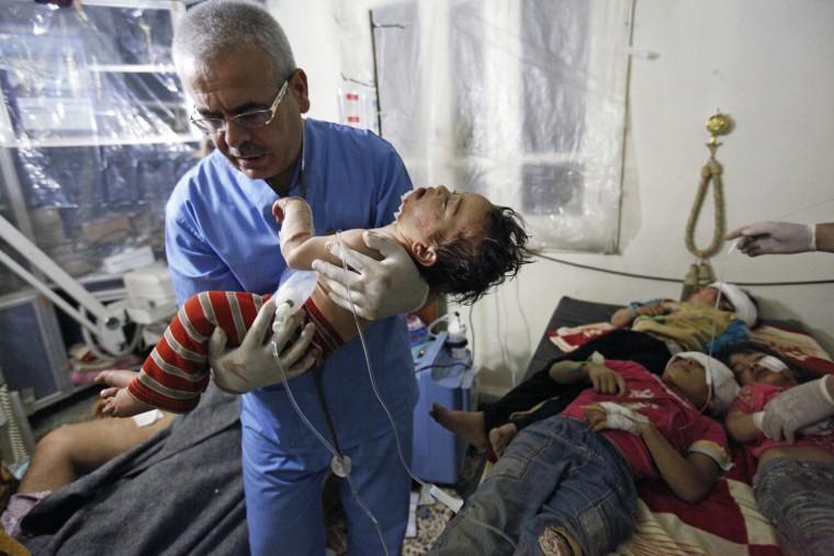 Image: Massacre of Syrian children