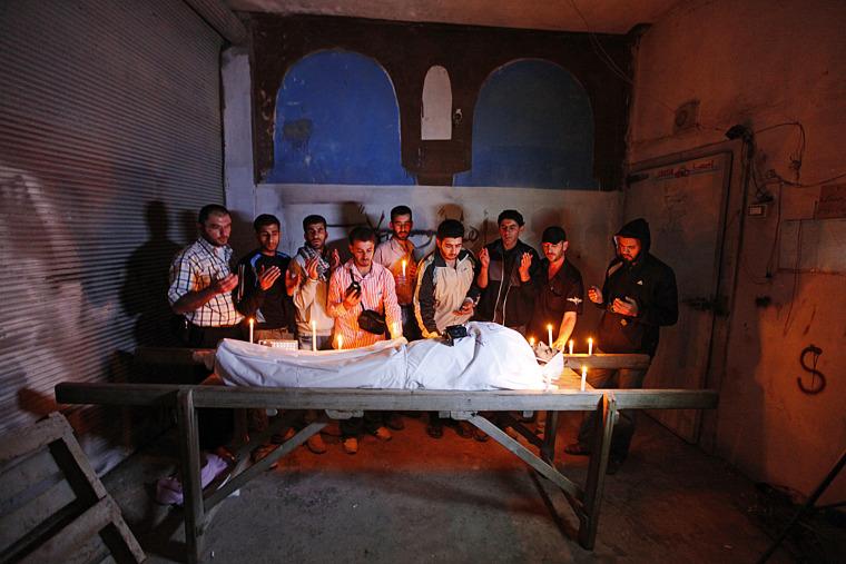 Image: Journalist dies during attack in Homs