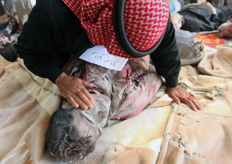 Image: Syrian civilians killed by army