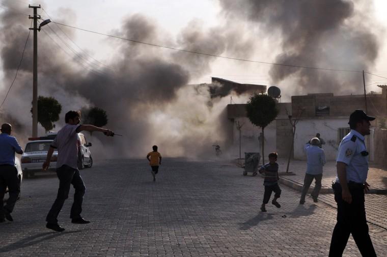 Image: TURKEY-SYRIA-UNREST