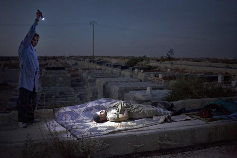 Image: Civilian casualties in Aleppo