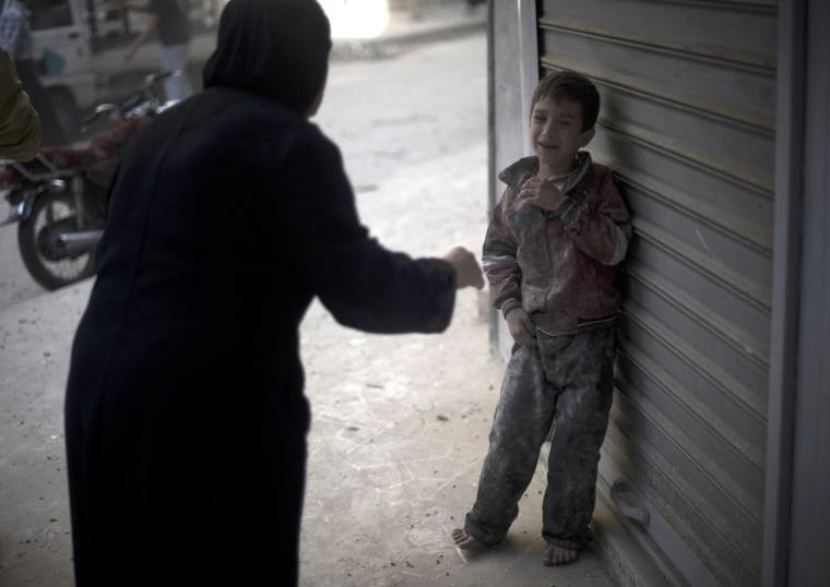 Image: TOPSHOTS-SYRIA-CONFLICT-ALEPPO