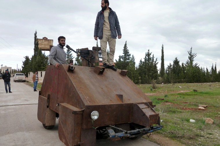 Image: SYRIA-CONFLICT-REBELS-ARMS