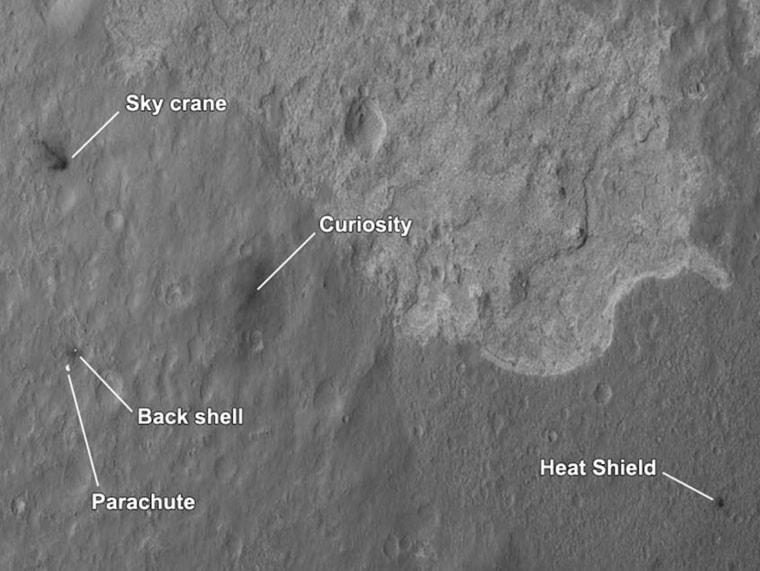 Image: NASA's Curiosity Rover Captures Mars