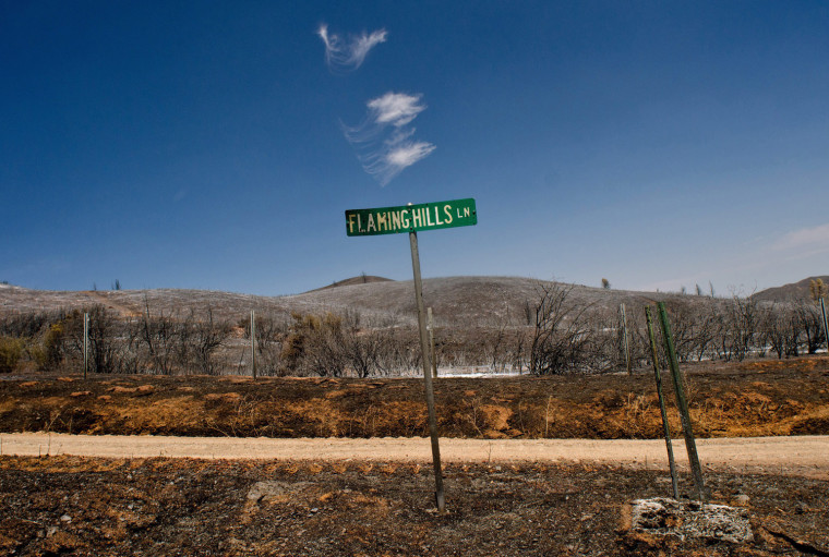 Image: Northern California wildfires