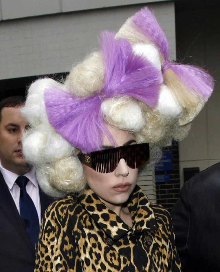 Lady Gaga Sighted At Her Hotel - February 16, 2010