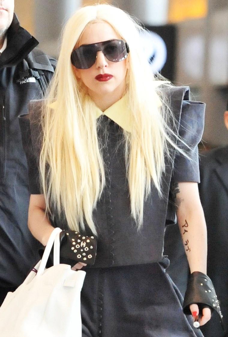Lady Gaga Arrives Japan