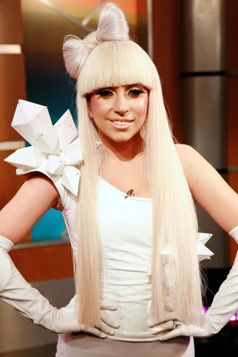"Lady GaGa and Chris Jericho Visit FOX's ""Good Day New York"" - October 29, 2008"