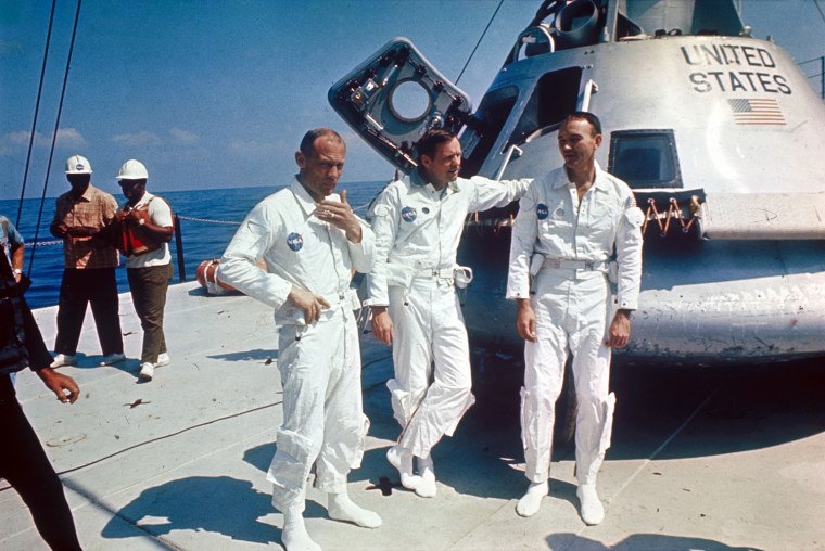 Image: (FILE PHOTO) Astronauts To Receive Congressional Gold Medals: A Look Back