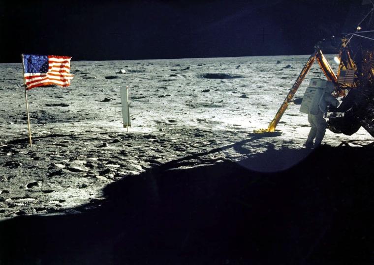 Image: SPACE-LUNAR LANDING ANNIVERSARY