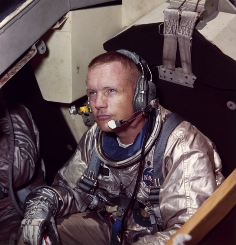Subject: Neil Armstrong commander of Apollo 11 mission to moon. 1969 Photographer- Ralph Morse Time Life Staff merlin-1150648