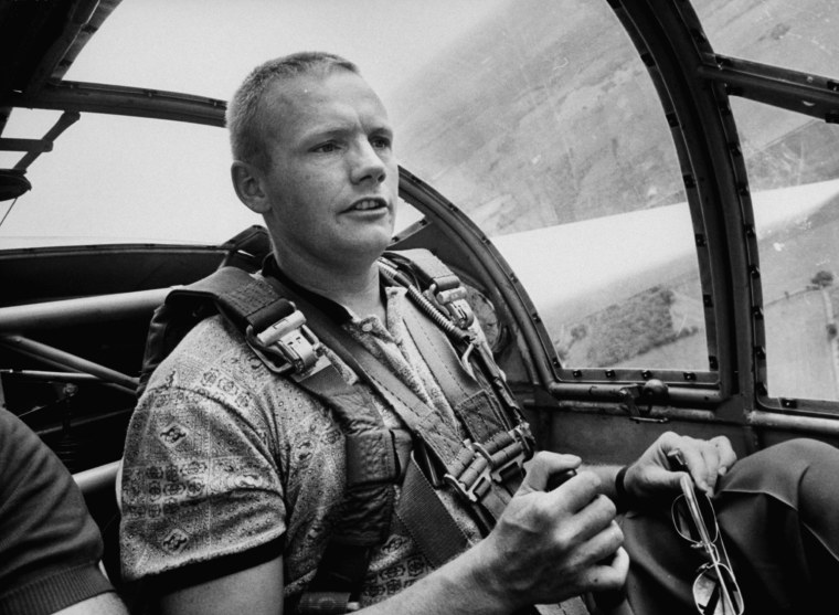 Image: (FILE PHOTO) Neil Armstrong dies at 82