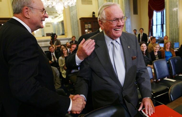 Image: Senate Holds Hearing On Future Of U.S. Human Space Flight