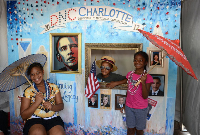 Image: US - VOTE - 2012 - DEMOCRATIC  CONVENTION