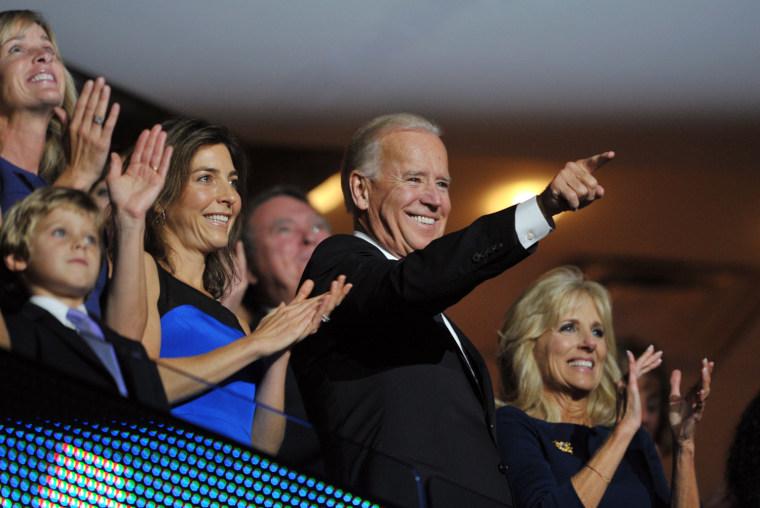 Image: US-VOTE-2012-DEMOCRATIC CONVENTION