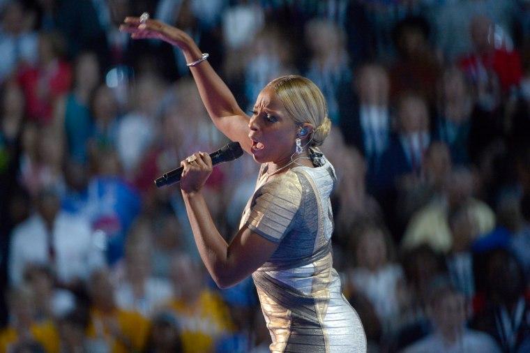 Image: The 2012 Democratic National Convention in Charlotte, North Carolina USA