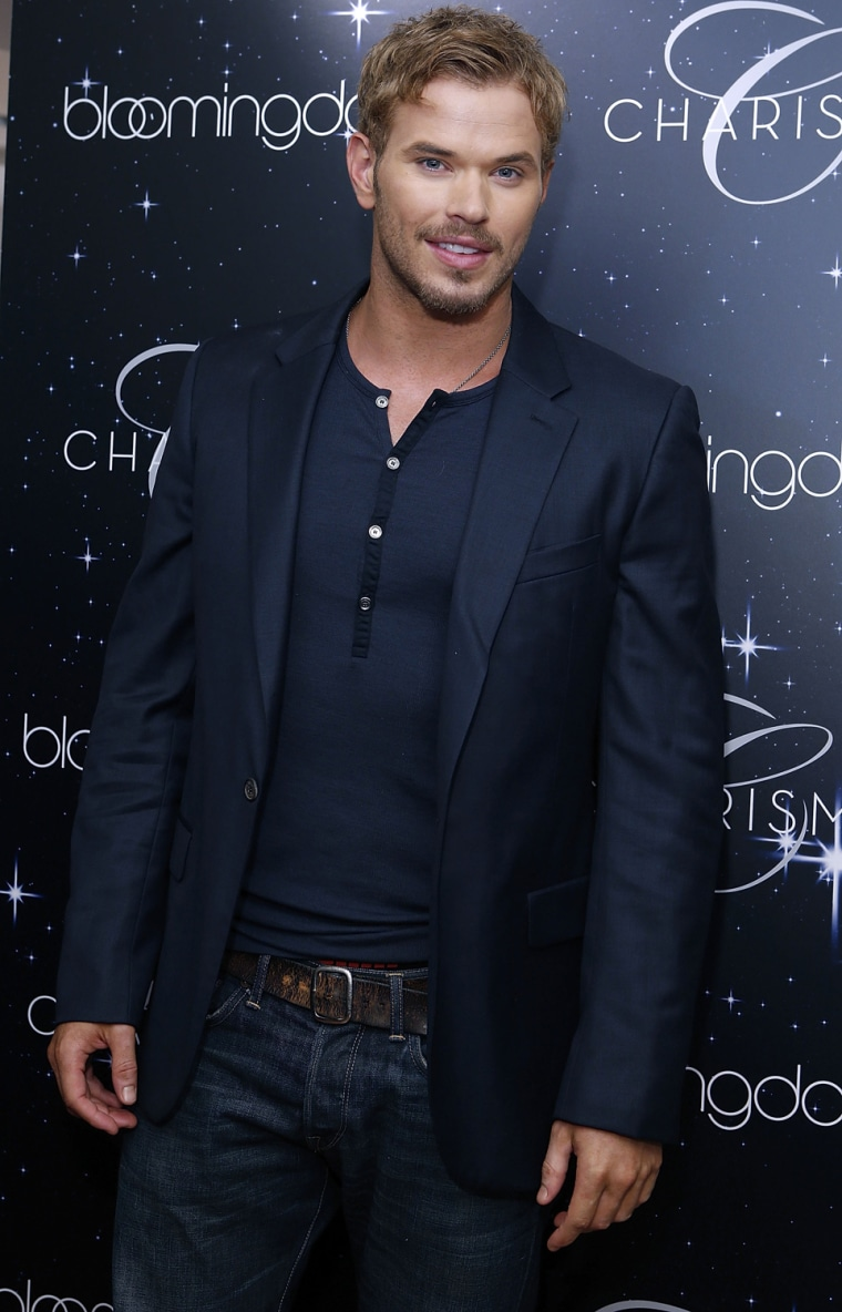 Image: Kellan Lutz For Charisma on Fashion's Night Out At Bloomingdales
