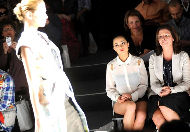 Image: Supima - Front Row - Spring 2013 Mercedes-Benz Fashion Week