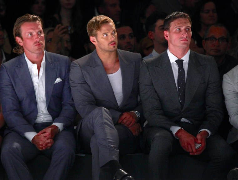 Image: Joseph Abboud - Front Row - Spring 2013 Mercedes-Benz Fashion Week