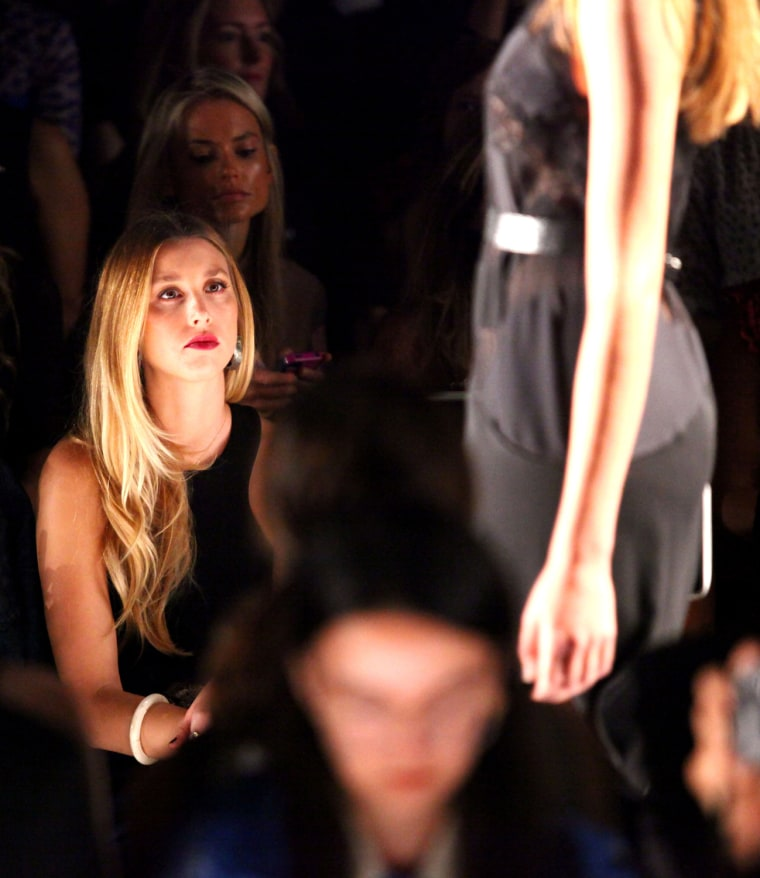 Image: BCBGMAXAZRIA - Front Row - Spring 2013 Mercedes-Benz Fashion Week