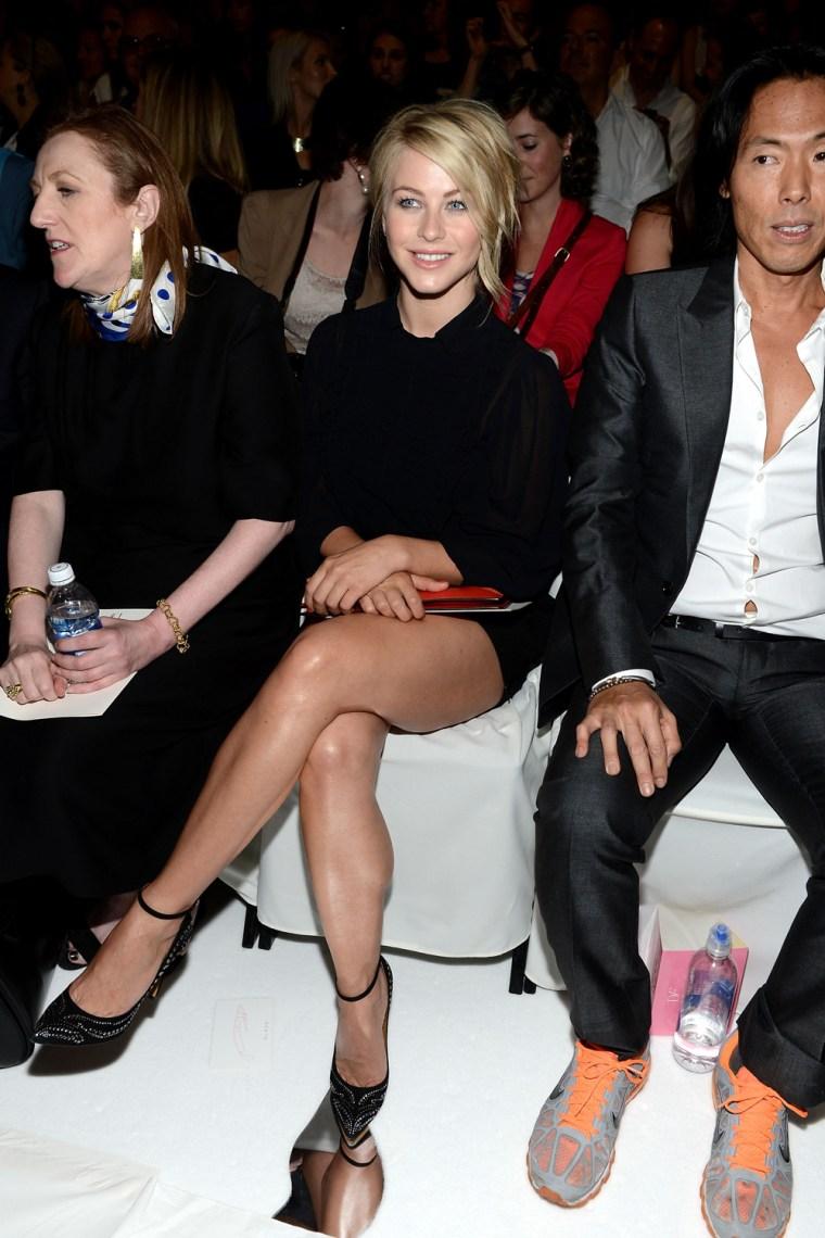 Image: Diane Von Furstenberg - Front Row - Spring 2013 Mercedes-Benz Fashion Week