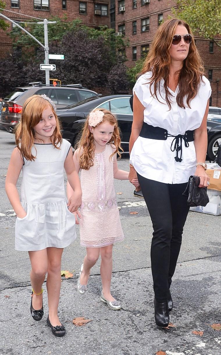 Image: Celebrity Sightings In New York City - September 8, 2012