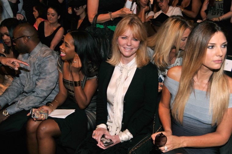 Image: Herve Leger By Max Azria - Front Row - Spring 2013 Mercedes-Benz Fashion Week