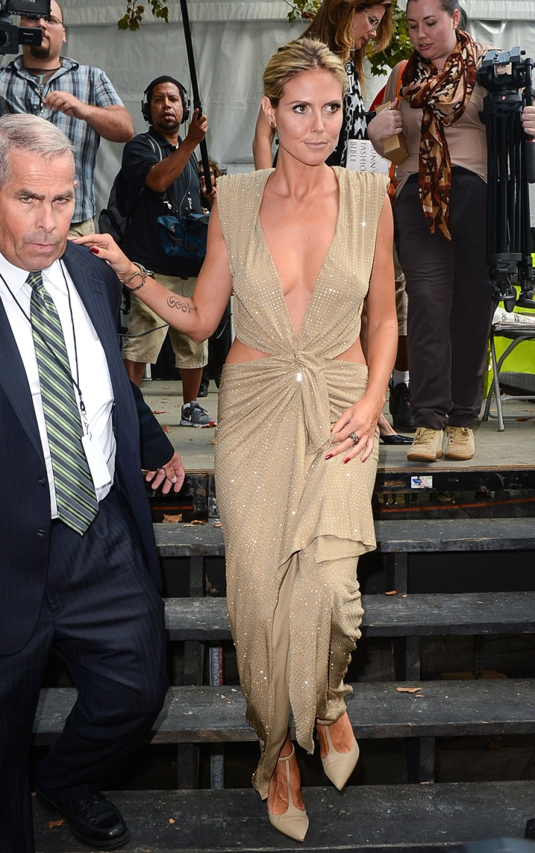 Image: Celebrity Sightings In New York City - September 7, 2012