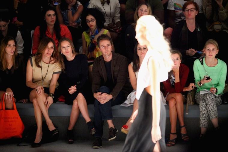 Image: Osklen - Front Row - Spring 2013 Mercedes-Benz Fashion Week
