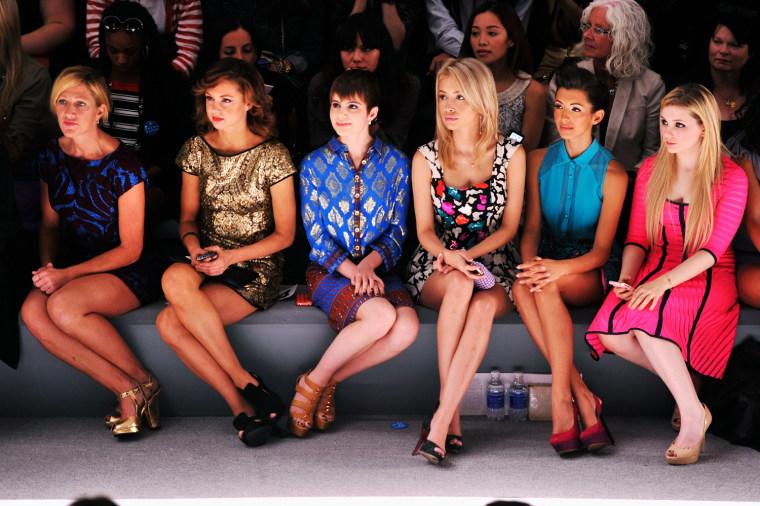 Image: Nanette Lepore - Front Row - Spring 2013 Mercedes-Benz Fashion Week