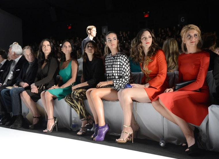 Image: Michael Kors - Front Row - Spring 2013 Mercedes-Benz Fashion Week