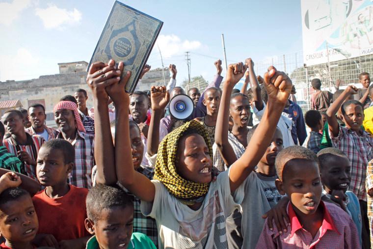 Image: SOMALIA-ISLAM-UNREST-FILM-US