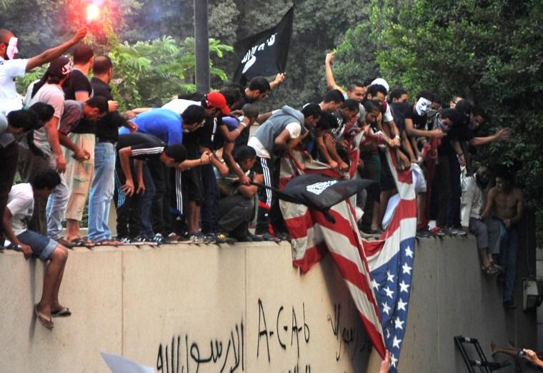 Image: TOPSHOTS-EGYPT-US-UNREST-ISLAM-DEMO