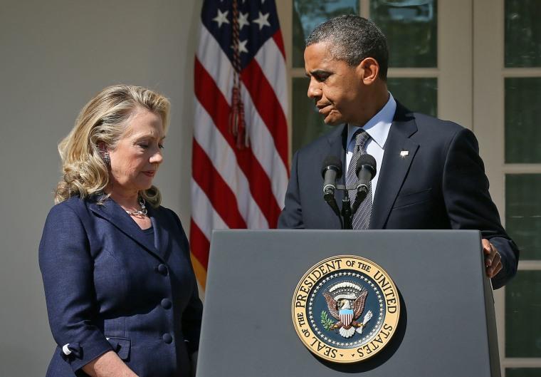 Image: President Obama Speaks On The Death Of US Ambassador In Libya Christopher Stevens