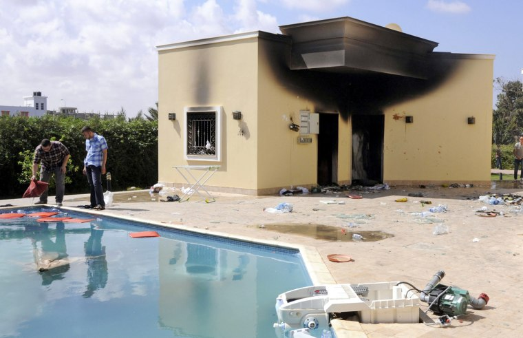 Image: US consulate in Benghazi attacked