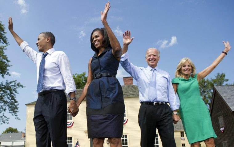 Image: US-VOTE-2012-DEMOCRATIC CAMPAIGN