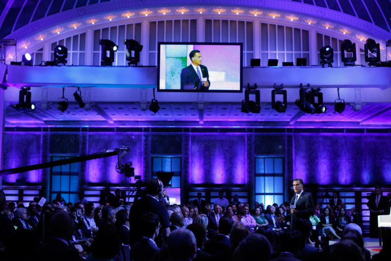 Image: Republican presidential candidate and former Massachusetts Governor Mitt Romney addresses the NBC Education Nation Summit in New York