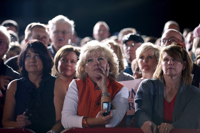 Image: Mitt Romney Holds Campaign Rally In Denver Ahead Of First Debate