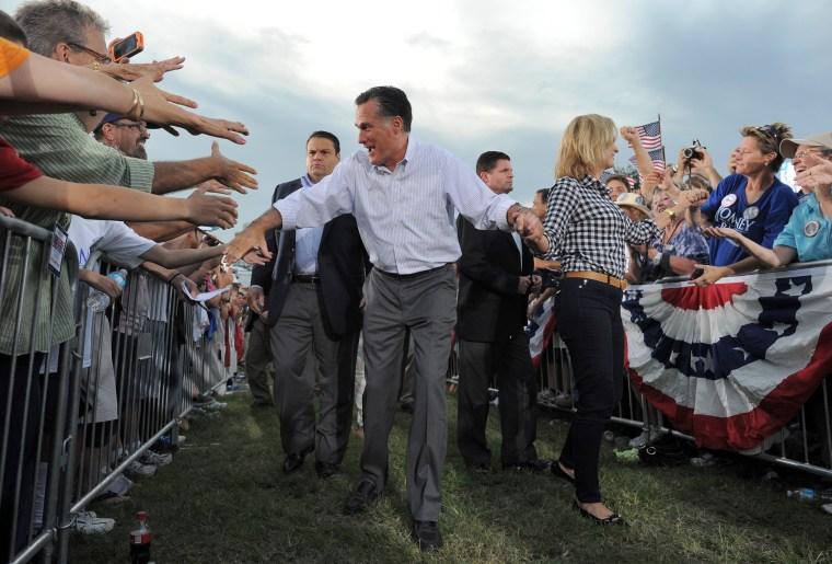 Image: US-VOTE-2012-REPUBLICAN CAMPAIGN-ROMNEY