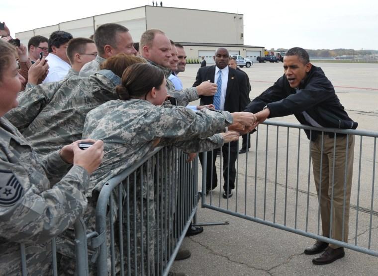 Image: US-VOTE-2012-DEMOCRATIC CAMPAIGN-OBAMA