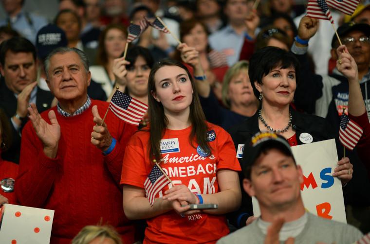 Image: US-VOTE-2012-REPUBLICAN CAMPAIGN