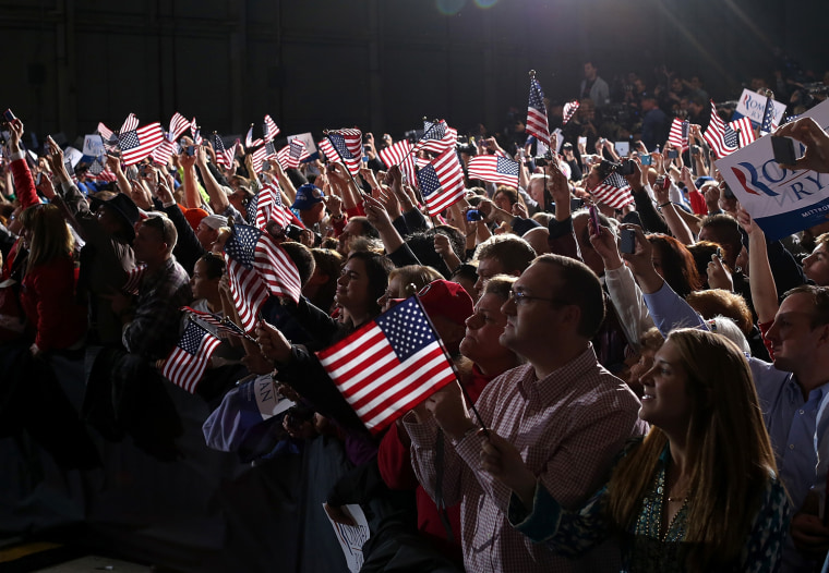 Image: Romney Campaigns Throughout Swing States Ahead Of Presidential Election