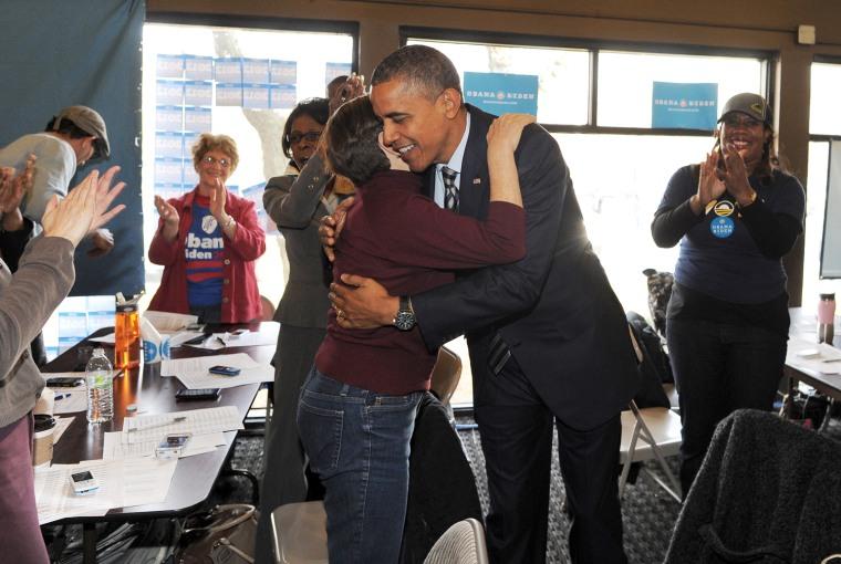 Image: US-VOTE-2012-ELECTION