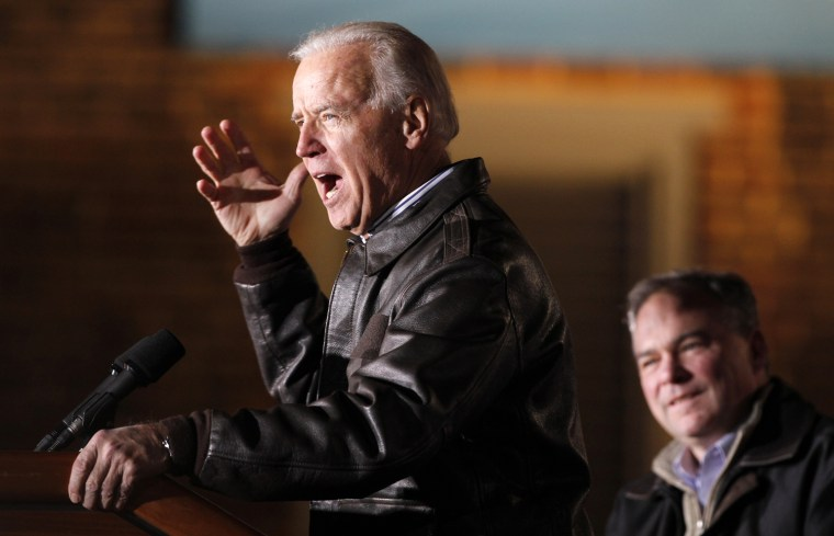 Image: Joe Biden, Timothy Kaine