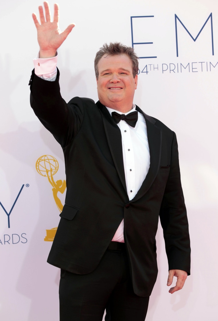 Image: Actor Eric Stonestreet arrives at the 64th Primetime Emmy Awards in Los Angeles
